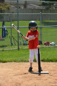 Daniel up to Bat